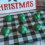 Grinch Chocolate Truffles