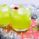 Green Grinch Drink - Fun Holiday Mocktail!