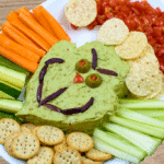 Grinch Guacamole - Fun Christmas Appetizer
