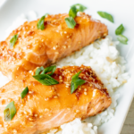 Easiest Baked Teriyaki Salmon