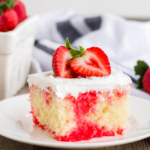 Strawberry Poke Cake Using Jello