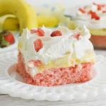 Strawberry Banana Cake