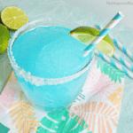 How to Make Blue Lagoon Margaritas