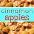 Cracker Barrel Cinnamon Apples + Video
